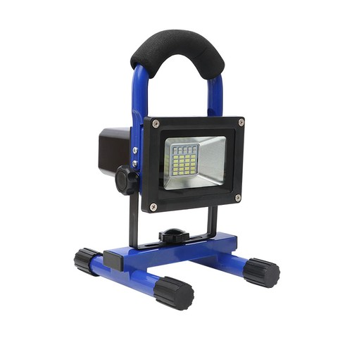60W 10000LM LED Work Spotlight 3-Modes Cordless Flood Light Portable Floodlight