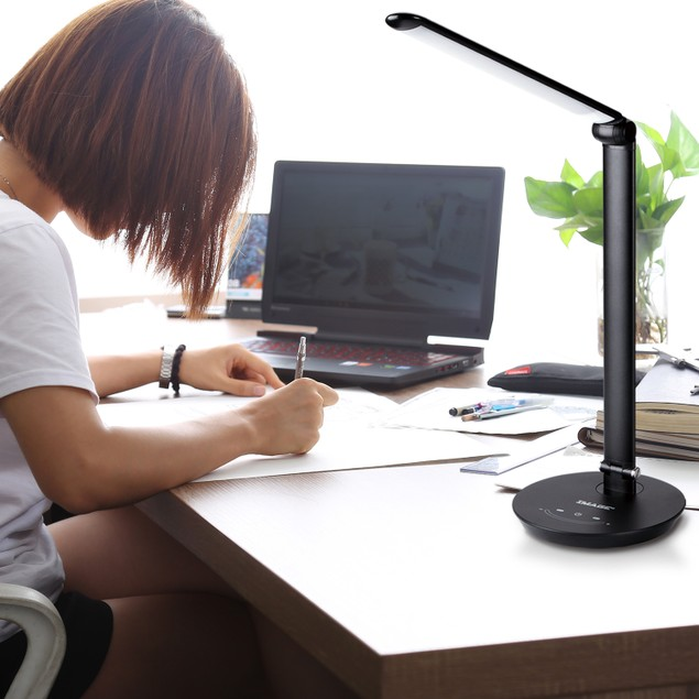 IMAGE LED Desk Lamp with Max 12W.  Touch Control brightness&Color