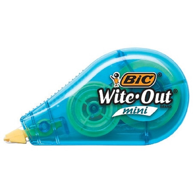 BIC Wite-Out Brand Marque Mini Instant EZ Correct Correction Paper-Based