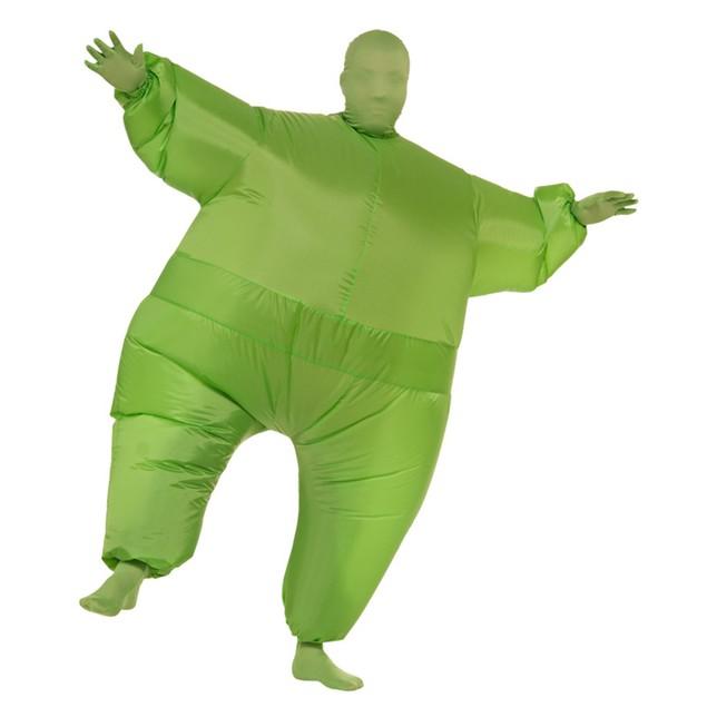 Green Infl8s Fat Suit
