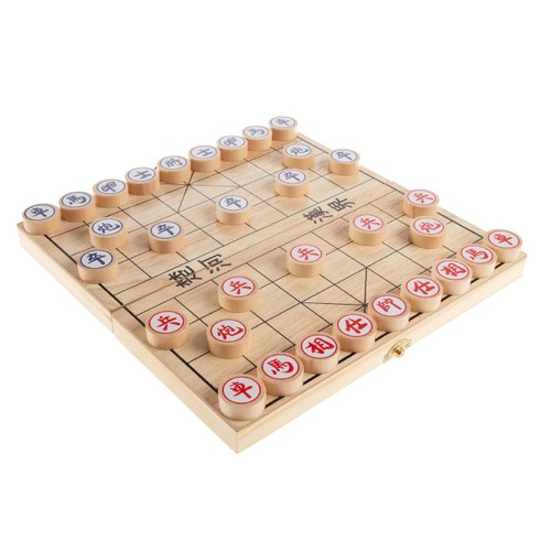 Chinese Chess  Wooden Beginnerft.s Traditional Tabletop Strategy