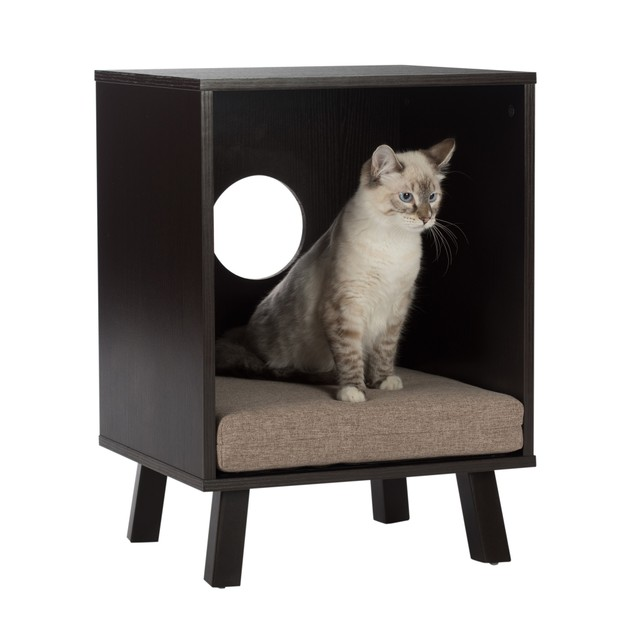 Offex Pet Bed  End Table Nightstand for Dog or Cat with Easy to Clean Mattress Cover
