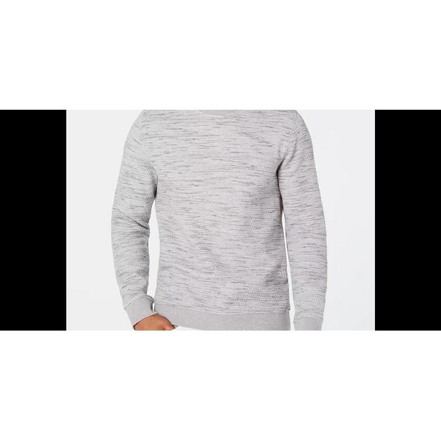 Alfani Men's Heathered Sweatshirt Grey Size X-Large