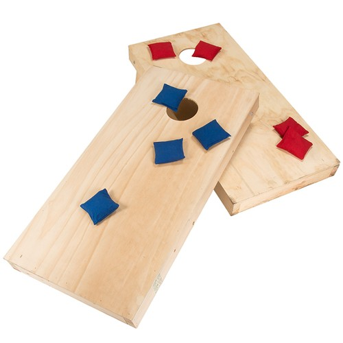 Do-It-Yourself Regulation Size Cornhole Boards and Bags