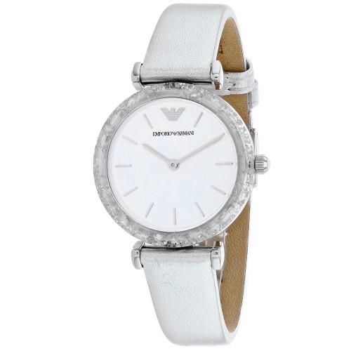 Armani Women's Classic White Watch - AR11124