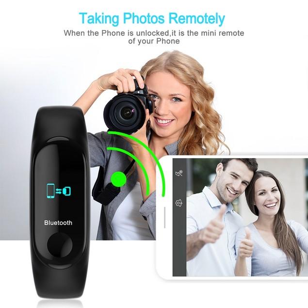 Fitness Tracker, Waterproof Activity Tracker Bluetooth Wireless Smart watch