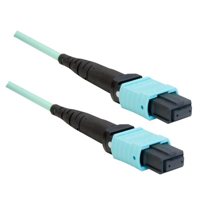 Plenum Fiber Optic Cable, MTP / MTP (MPO), Multimode, (10 foot)