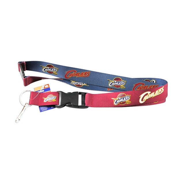 NBA Cleveland Cavaliers Reversible Clip Lanyard Keychain Id Ticket Holder