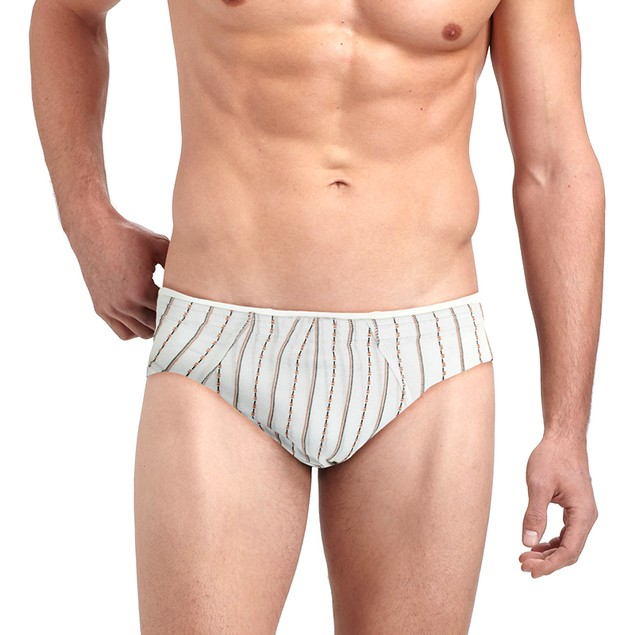 6-Pack Mystery Deal: Men's Breathable Colored Bikini Briefs