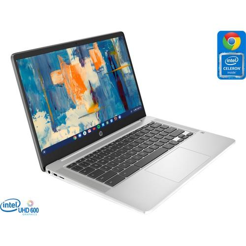 """HP Chromebook 14a, 14"""" FHD, Celeron N4000, 4GB RAM, 32GB eMMC"""