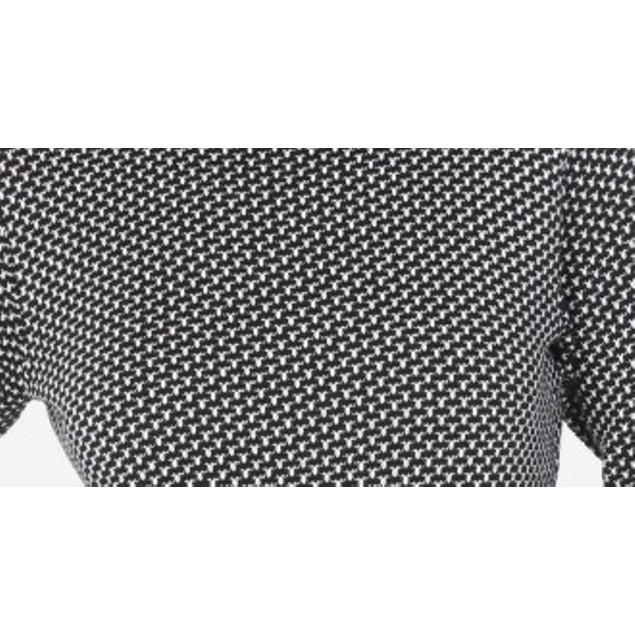 Karen Scott Women's Marled Cotton Turtleneck Sweater Natural Size Large