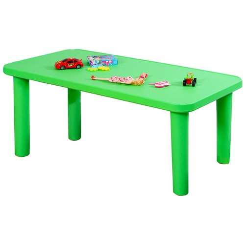 Costway Kids Portable Plastic Table Learn and Play Activity School Home Fur