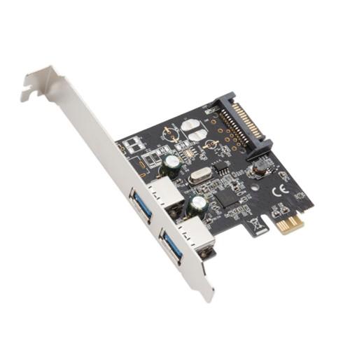 2 Port USB 3.0 PCI-e 2.0 x1 Card