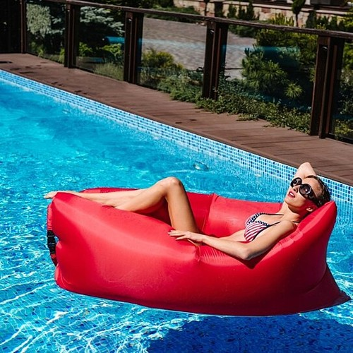 Outdoor Inflatable Lounger- 4 Colors