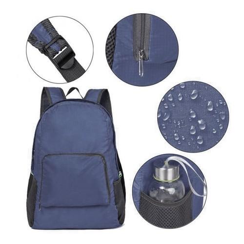 Foldable Backpack Zipper Travel Hiking Backpack Outdoor Sport