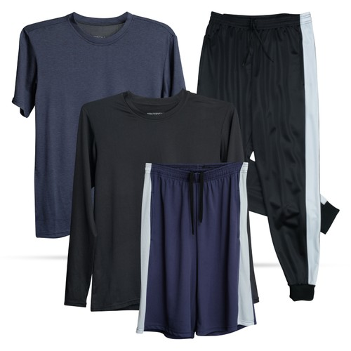 4-Pack Boys Dry- Fit Activewear Collection