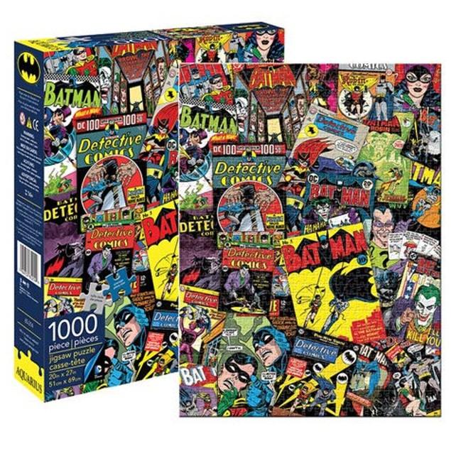 Batman Collage 1000 Pieces Puzzle