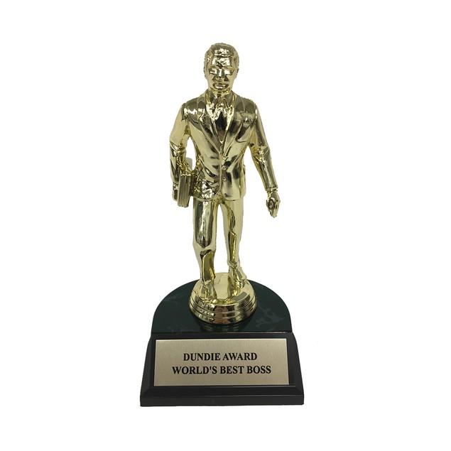 World's Best Boss Dundie Award Trophy