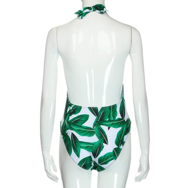 Women Monokini Swimsuit Push Up Bathing Suit Bikini One Piece Swimwear