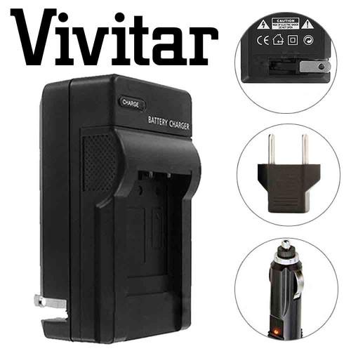 Vivitar LC-E6 Replacement Rapid Charger for Canon LP-E6 For 90D 80D 5D 6D 7D