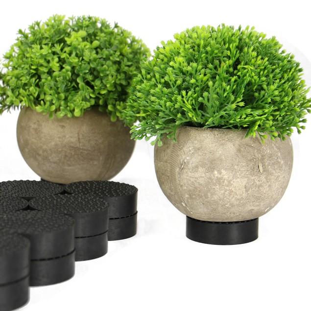 24pc Non-Slip Plant Pot Feet | Pukkr