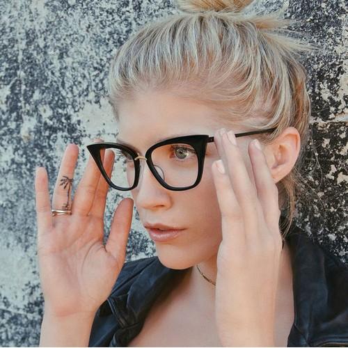 Retro Cat Eye Rice Nail Sunglasses