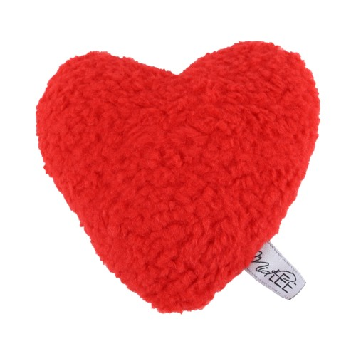 Midlee Plush Red Heart Valentine's Day Dog Toy (Small)