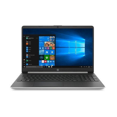 """HP 15-DY1051WM 15.6"""" 256GB i5-1035G1 Win10H,Natural Silver (Used - Good)"""
