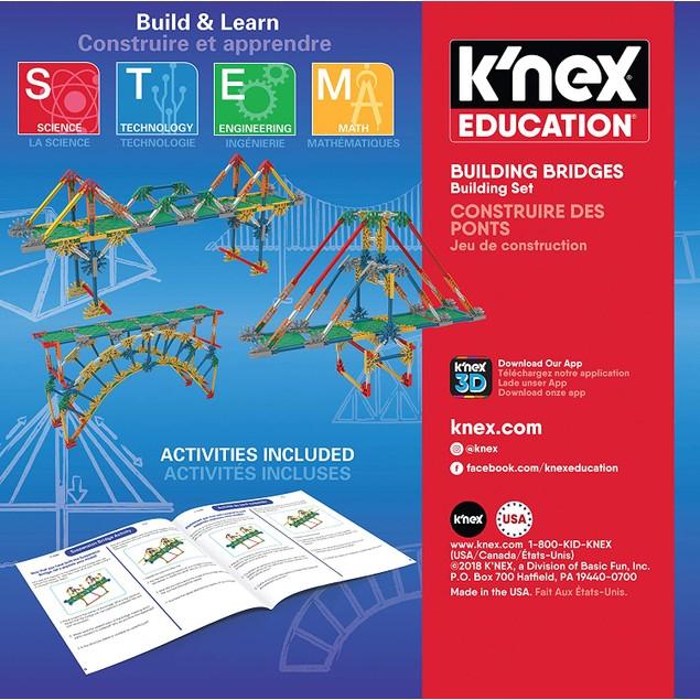 K'NEX Bridges Ages 8+ Construction Education Toy Building Sets (207 Piece)