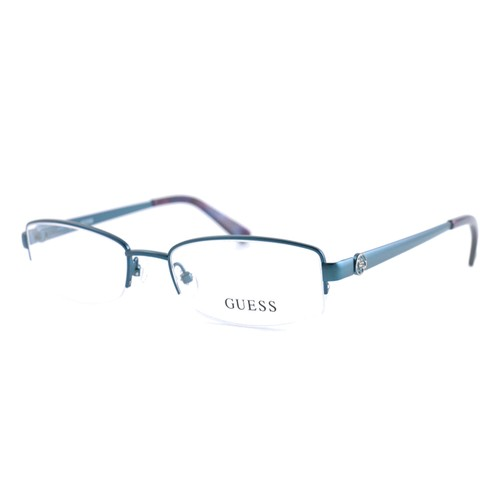 Guess Women  GU2525 091 Blue 50 17 135 Semi Rimless Rectangle