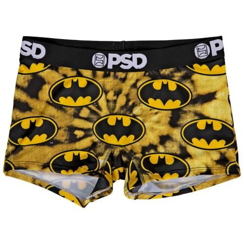 DC Batman Symbol Tie Dye Microfiber Boy Shorts Underwear