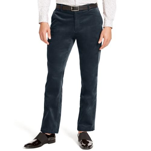INC International Concepts Berlin Slim Straight Cargo Pants Green 33x32