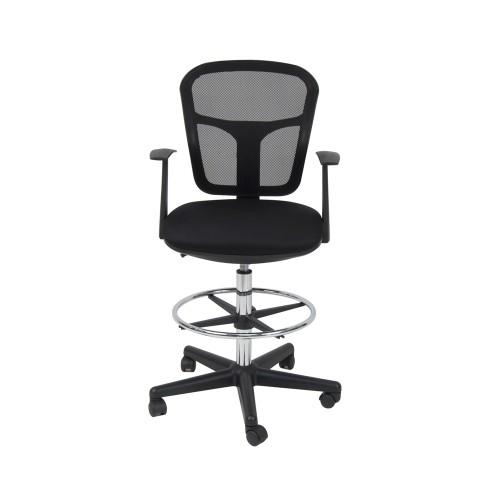 Studio Designs Riviera Drafting Chair - Black