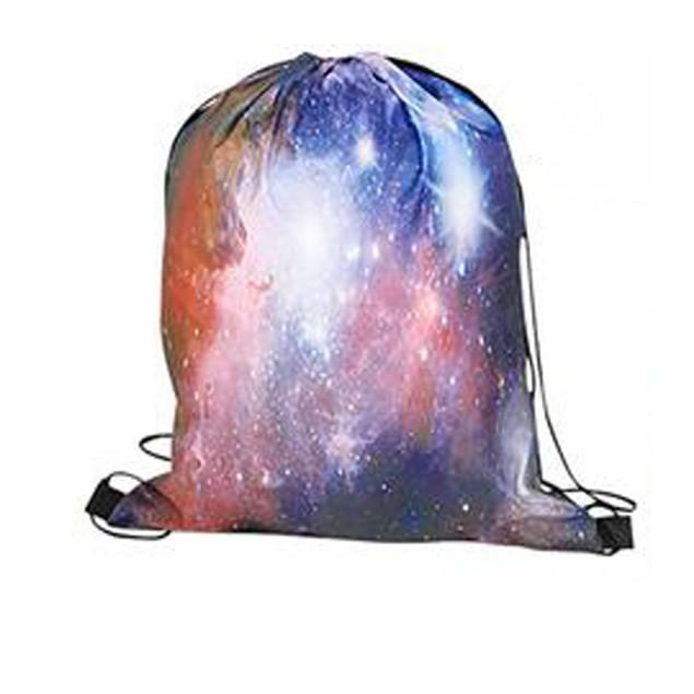 Milky Way Galaxy Drawstring Backpack