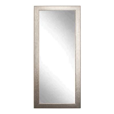 """BrandtWorks Subway Silver Floor Mirror 32"""" x 66"""""""