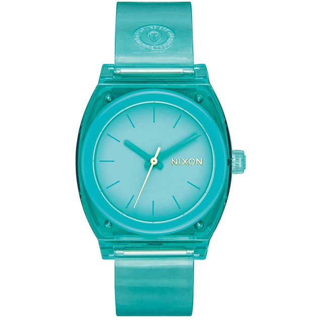 Nixon Women's Medium Time Teller P Teal Dial Watch - A1215-309