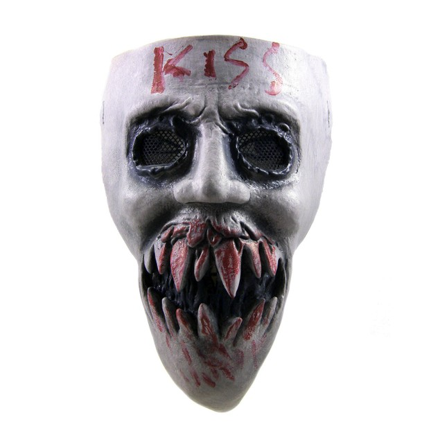 Kiss Mask With Mesh Eyes