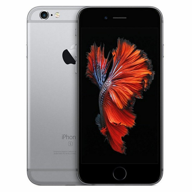 Apple iPhone 6s, AT&T, Gray, 16 GB, 4.7 in Screen
