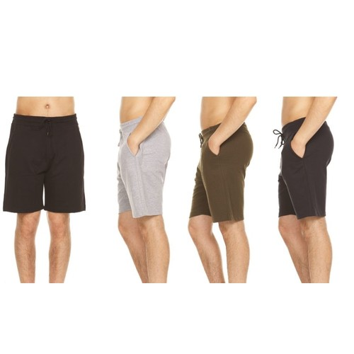 Men's French Terry Lounge Shorts With Pockets