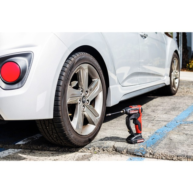 Powerbuilt 20V Lithium-Ion Cordless Tire Inflator with 150 PSI