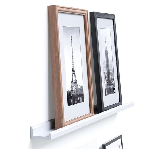 46 Inches Floating Picture Display Ledge Wall Mount Shelf Denver Modern Design