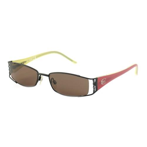 Just Cavalli Women's Sunglasses JC0168 0BR Black/Pink 53 18 135 Rectangular