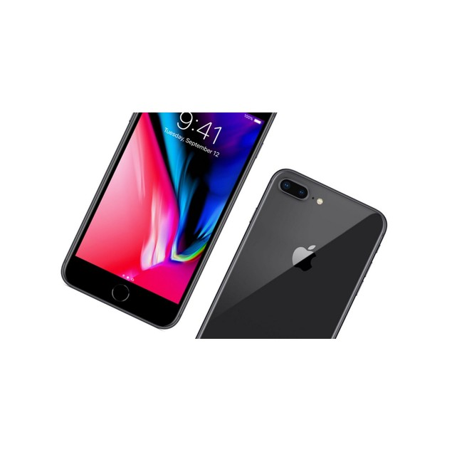 Apple iPhone 8 Plus, AT&T, Gray, 128 GB, 4.7 in Screen