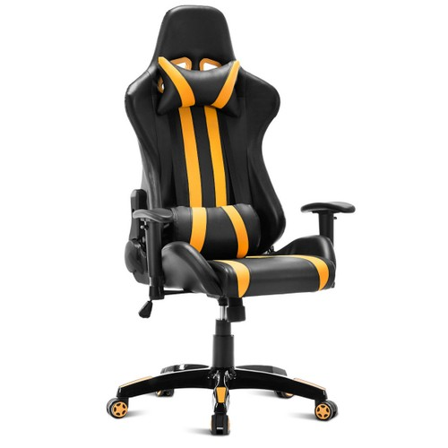 Costway Executive Racing Style High Back Reclining Chair Gaming Chair Offic