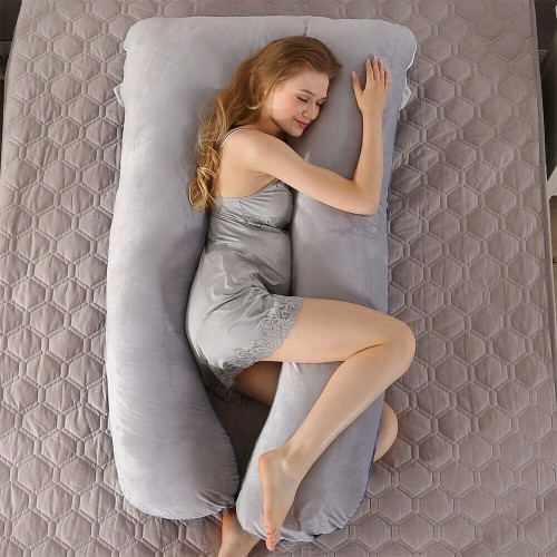 Pregnancy Pillow Maternity Sleeping Pillow for Hip Leg Back Belly Support
