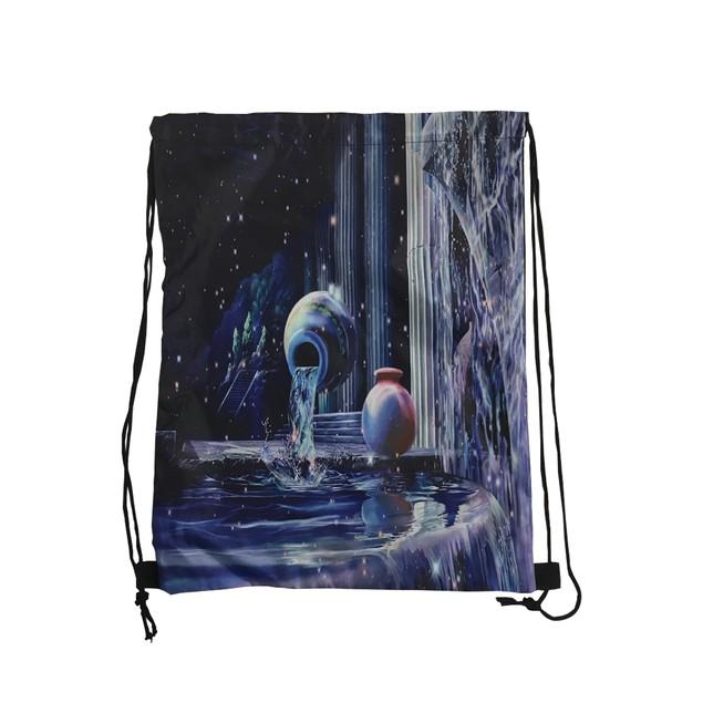Fountains Galaxy Drawstring Backpack