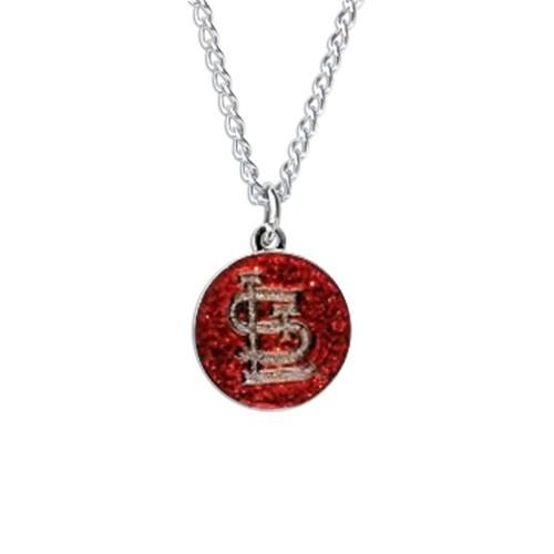 Cleanlapsports Saint Louis Cardinals Glitter Necklace