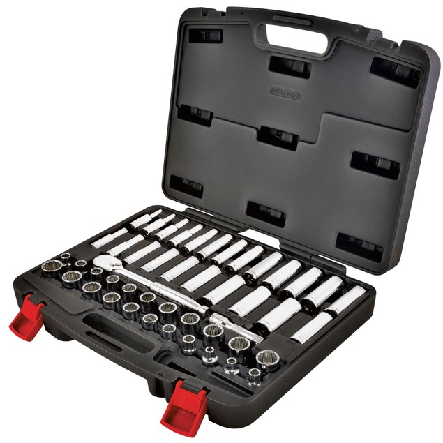 Powerbuilt 47-Piece Tool Set with Storage Case