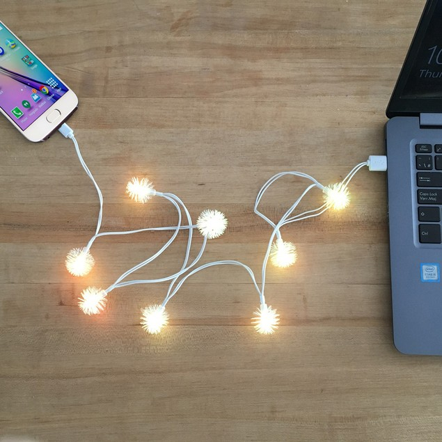 Android LED Light Charging Cables   Assorted Styles
