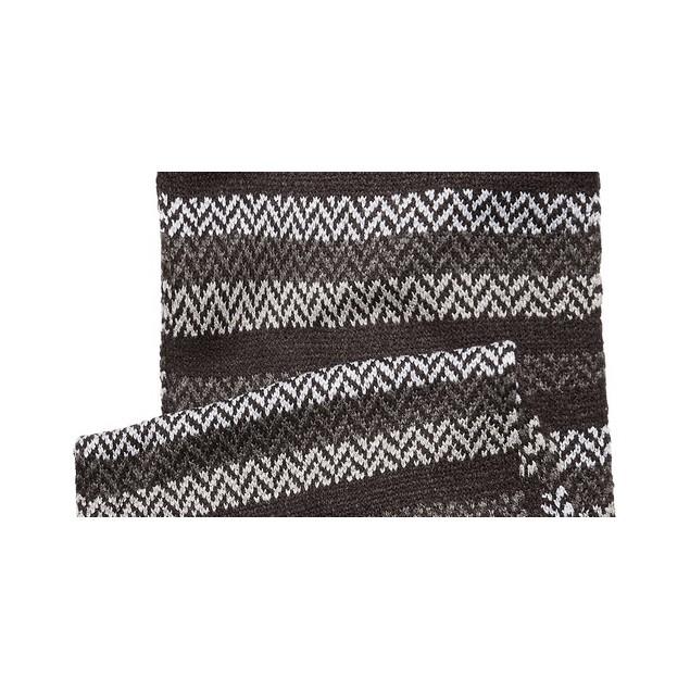 Tommy Hilfiger Men's Ski Patrol Herringbone Striped Scarf Gray Size Regular